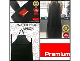 Jual Celemek anti air/Apron anti air/Apron PVC/Water proof Apron murah dan bagus