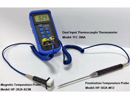 Jual Dua Channel Thermocouple Thermometer TFC-360A