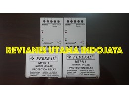 Jual FEDERAL MTPR 1 Motor Protection Relay