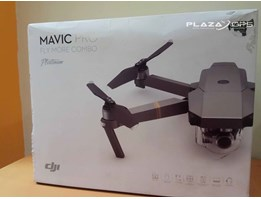 Jual Drone Mavic Pro Fly More Combo Platinum Second Kondisi Mulus