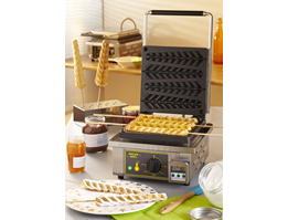 Single Waffle on Sticks Iron Roller Grill GES 23
