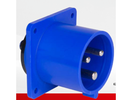 INLETS FLANGE STRAIGHT 20/30A IP44 splashproof
