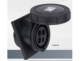 RECEPTACLES FLANGE ANGLED 20/30A IP67 watertight