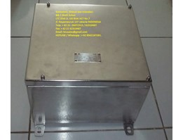 Jual box panel star delta motor stainless stell explosion proof