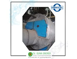 Jual Steam Boiler Fire tube Omnical GmbH Cap 10 ton German