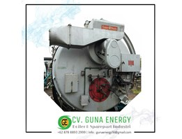 Jual Steam Boiler Cleaver Brooks Kapasitas 6000 Kg