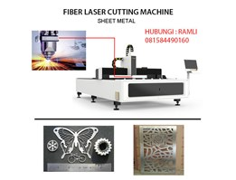 Jual Mesin Laser Cutting