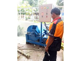 Jual Mesin Grinder Kayu Wood Crusher 1 Ton