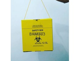Jual Disposable Safety Box