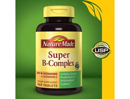 Jual Nature Made Super B-Complex, 460 Tablets.