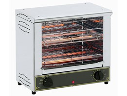 Roller Grill Infrared Pembuat Sandwich & Toaster BAR 2000