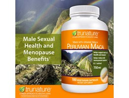 Jual Trunature Peruvian Maca 750 mg., 180 Vegetarian Capsules.