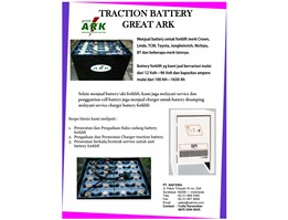 Jual BATTERY FORKLIFT ELECTRIC