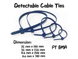 Jual Detectable Cable Ties (Aksesoris Laboratorium)