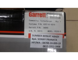 Jual GARRETT Turbocharger 6207-81-8210 Model PC200-5