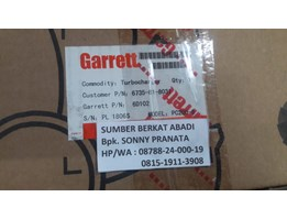 Jual GARRETT Turbocharger 6735-81-8031 Model PC200-6