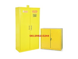 Jual Steel Chemical Storage Cabinet 2 Doors Hazardous Material
