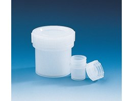 Jual Jar with screw cap, PE-LD