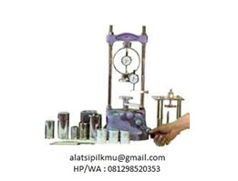 Jual UNCONFINED COMPRESSION MACHINE (Hand Operated) (ASTM D-2166/AASHTO T-208/SNI 03-3638-1994)
