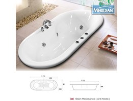 Jual Meridian Bathtub Java