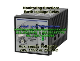 Jual Broyce Control Earth Leakage Relay ELRP48V-30 115Vac and 230VAC