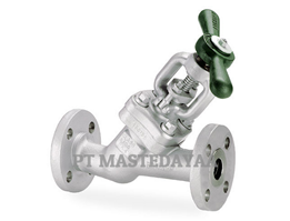 Jual Y-Pattern Globe Valves - Blow-off