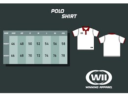 Jual Jasa Custom Jersey Polo Shirt Full Printing