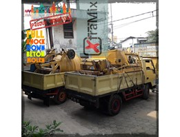 Jual Knock Down Mobile Self Loading Concrete Mixer