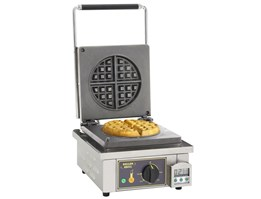 Jual Single Round Waffle Iron Roller Grill GES 75 Pancake & Waffle