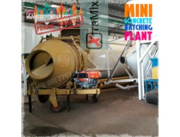 Jual Mini Concrete Mixer Batching Plant Xtramix