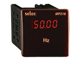 Jual SELEC Digital Frequency dan Power Factor Metal