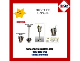 Jual BUCKET ICE STAINLESS STEEL