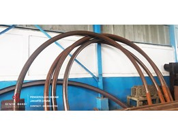 Jual jasa bending hbeam, pipa, section bending