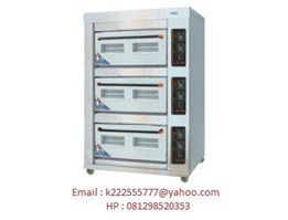 Jual Dual Gas Electric Baking Oven
