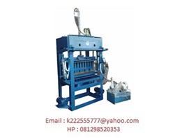 Jual Mesin Press Batako dan Paving Block Hidrolik Manual