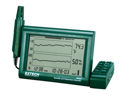 Jual Extech RH520A: Humidity+Temperature Chart Recorder with Detachable Probe alat pengukur suhu