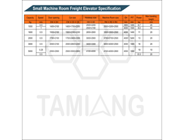 Jual Tamiang Freight Elevator