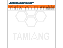 Jual Tamiang Automobile Specification