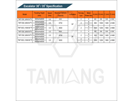 Jual Tamiang Escalator Specification Elevator