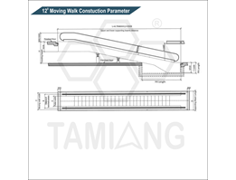 Jual Tamiang Moving Walk Construction Parameter