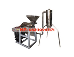 Jual Mesin Penepung Kedelai With Cyclone (Hammer Mill With Cyclone) Material Stainless Steel