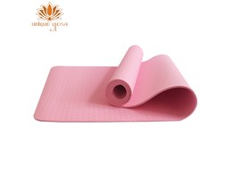 Jual Matras Yoga TPE Single Layer 6mm Pink / Alas Senam Yoga / Yoga & Perlengkapannya