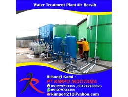 Jual Water Treatment Plant Air Bersih
