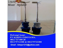 Jual Mixer Agitator