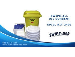 Jual SWIPE-ALL P90 - OIL SORBENT SPILL KIT 240L
