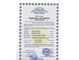 Jual CERTIFICATE OF HUMIABSORBENT DESICCANT