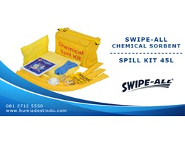 Jual SWIPE-ALL C88 - CHEMICAL SORBENT SPILL KIT 45L