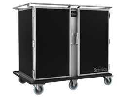 Jual ScanBox Banquet Line Duo AC16 + AC16 Food Trolley