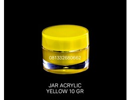 Jual JAR ACRYLIC YELLOW 10GR