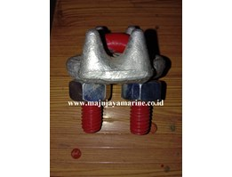 Jual KLEM SLING WIRE ROPE CLAMPS KUKU MACAN WIRE CLIP US TYPE DROP FORGED HD GALVANIZED